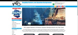 Aquarium Backgrounds Website