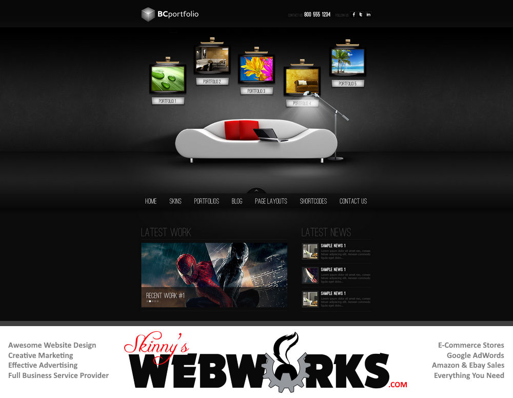website design development themes 005